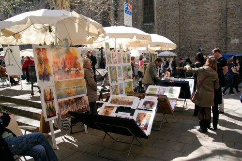 Parades dels pintors